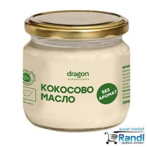 Био Кокосово Масло без аромат Dragon Superfoods 300мл.