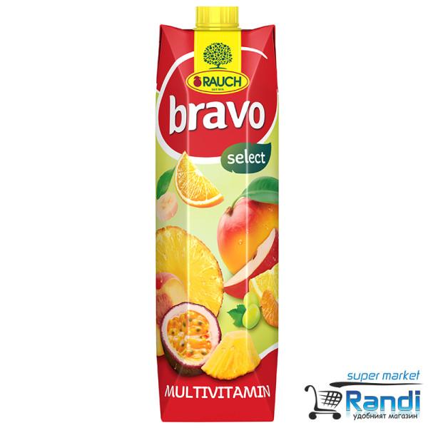 Сок Мултивитамин Bravo 1л.