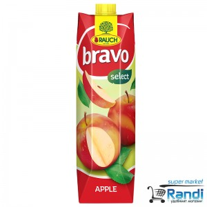 Нектар от ябълки Bravo 1л.