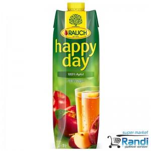 Сок от ябълка 100% Rauch - Happy Day 1л.