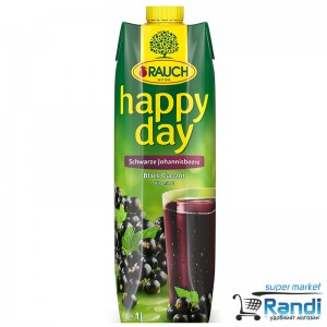 Нектар от касис Rauch Happy Day 1л.