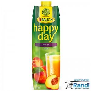 Нектар Rauch Happy day праскова 1л.