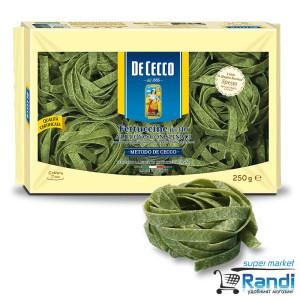 Фетучини с яйца и спанак De Cecco 250гр.