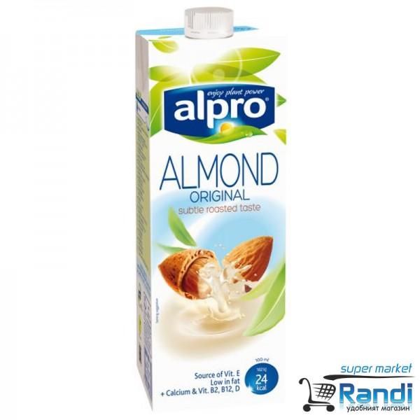 Бадемова напитка Alpro Almond original 1л.