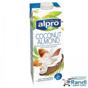 Кокосово-бадемова напитка Alpro 1л.