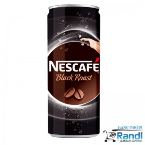 Кафе напитка Nescafe Black Roast 250мл.