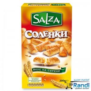 Соленки Salza с вкус на сирене 200гр.
