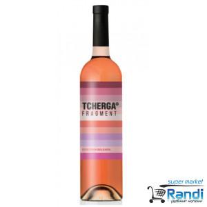 Вино Tcherga Fragment розе 750мл.