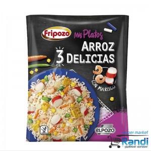 Пържен ориз с яйца и миди Fripozo 500гр.