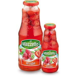 "Компот от ягоди ""Mazzeto"" 1л."