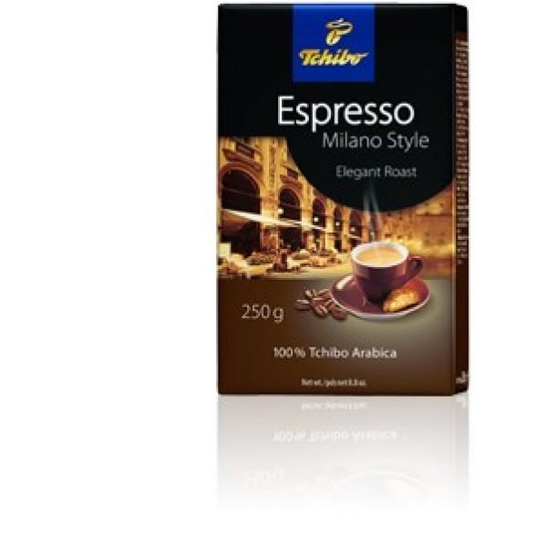 Кафе Tchibo Espresso Milano style 250гр. мляно