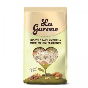 "Мюсли Seeds&Nuts ""La Garone"" 350гр."