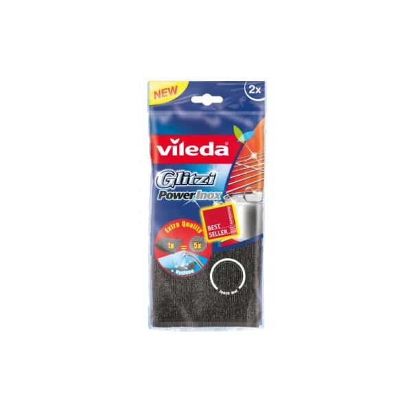 Домакинска тел Vileda Glitzi - Premium Power Inox 2бр.