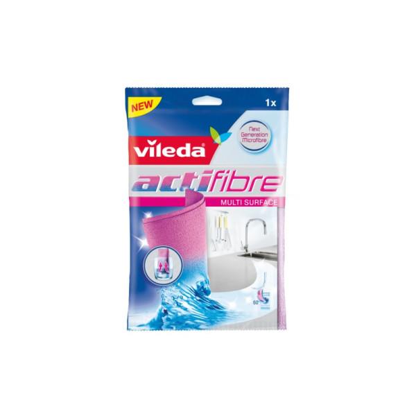 Микрофибърна кърпа за всякакви повърхности Vileda Actifibre 1бр. 29*29см.