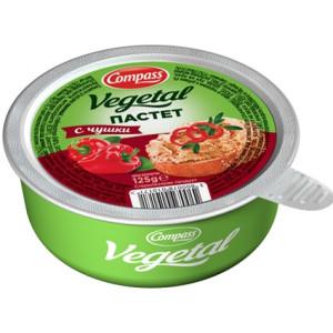 Зеленчуков пастет с чушки  Компас 125гр.