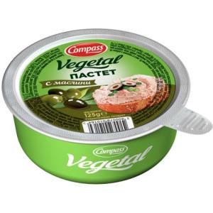 Зеленчуков пастет с маслини  Компас 125гр.