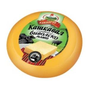 Кашкавал от биволско мляко Равногор 220гр.